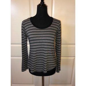 Sundry Boatneck Striped Top NWT
